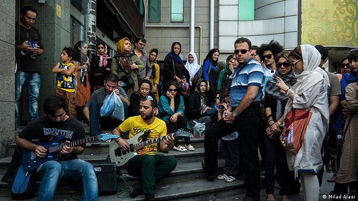 Bildergalerie Iran Straßenkünstler