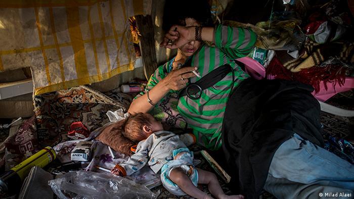 Bildergalerie Iran Obdachlose
