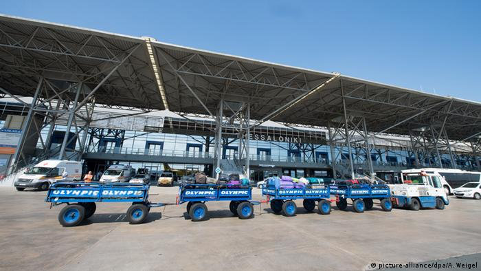Griechenland Flughafen Thessaloniki Makedonia Airport (picture-alliance/dpa/A. Weigel)