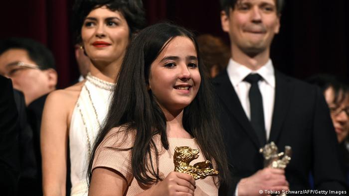 Berlinale 2015 Abschluss Gala Preisverleihung Nichte von Jafar Panahi