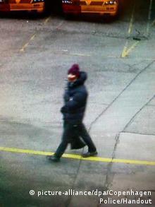 Osumnjičena osoba koju su snimile kamere na mjestu napada