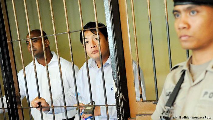 Indonesien Todesstrafe für zwei Australier