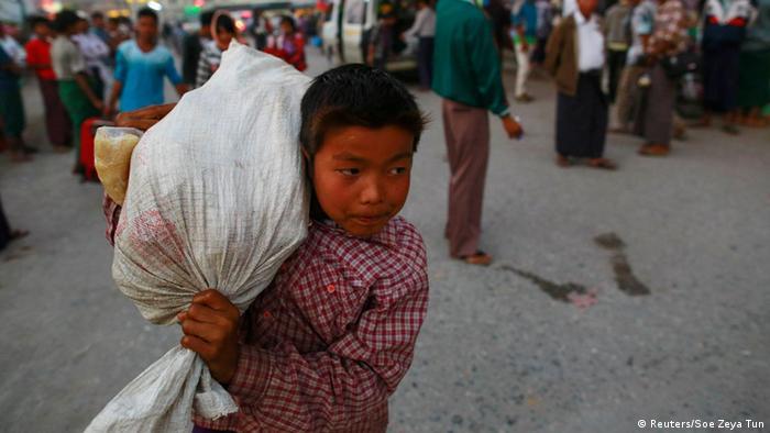 Myanmar Flucht vor den Rebellen der Kokang