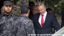 Tony Blair zu Besuch im Gazastreifen