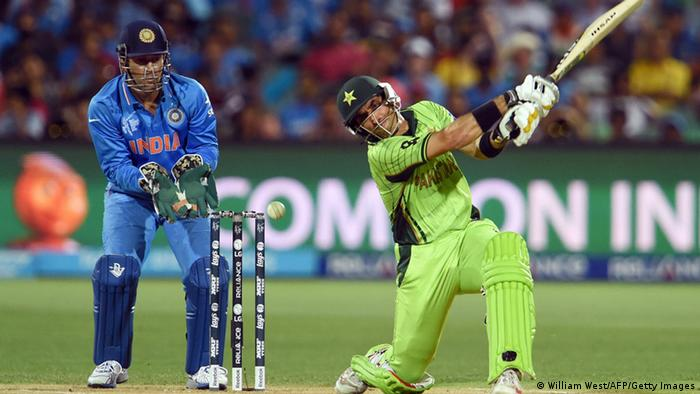 Cricket World Cup Spiel zwischen Indien und Pakistan (William West/AFP/Getty Images)