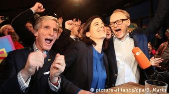 СвДП празднует прорыв на выборах в Бремене