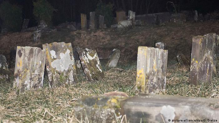 Jüdische Gräber in Ostfrankreich geschändet
