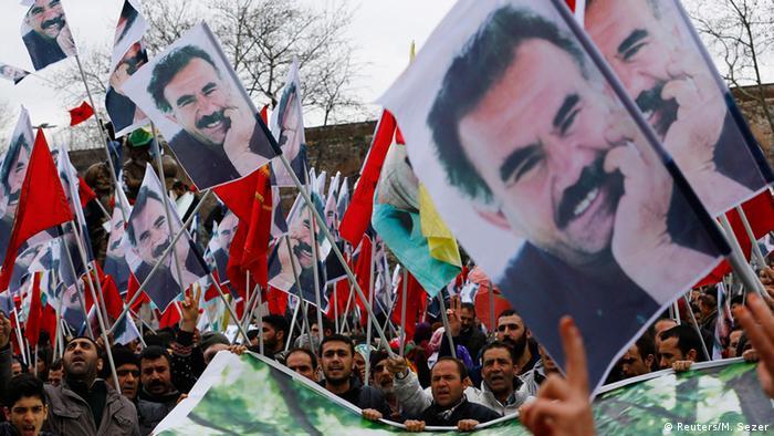 تظاهرات کردها در استانبول در ماه فوریه ۲۰۱۵