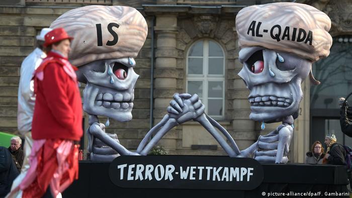 Террористы в веде скелетов