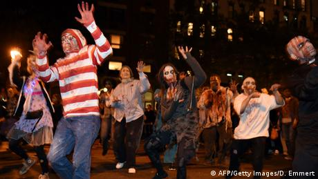 USA Halloween Parade in New York