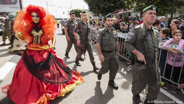 Israel Purim Parade in Netanya