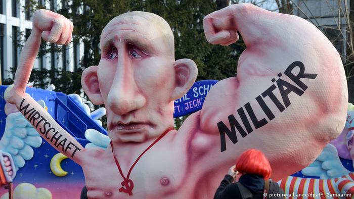 Кукла в виде Владимира Путина