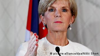 Julie Bishop Porträt (picture-alliance/dpa/Nikki Short)