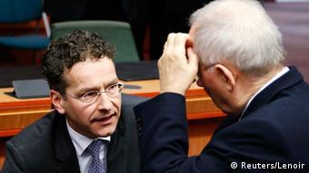 Eurogruppe Schuldengespräche mit Griechenland gescheitert (Reuters/Lenoir)