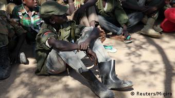 Kindersoldat im Süd-Sudan