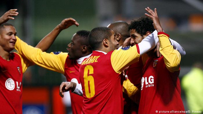Fußball Lens vs. Panathinaõkos