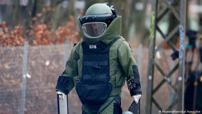 Vermeintlicher Bombenfund in Kopenhagen