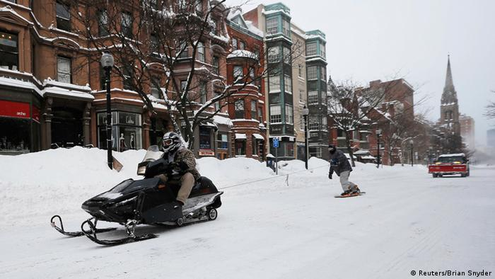 Boston im Winter (Foto: Reuters/Brian Snyder)