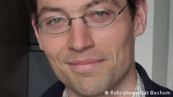Nicolas Plumeré, científico de la Universidad de Bochum
