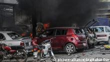 Pakistan Lahore Selbstmordanschlag Autobombe (picture-alliance/dpa/Rahat Dar)