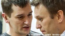 Kremlkritiker Nawalny vor Gericht