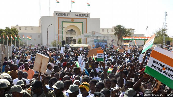 Protest gegen Boko Haram in Niamey, Niger (AFP/Getty Images/B. Hama)