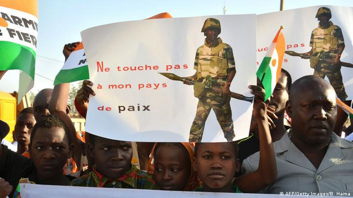 Protest against Boko Haram in Niamey, Niger