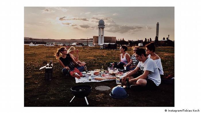 Instagramphoto of a picnic in Berlin, Copyright: Instagram/Tobias Koch