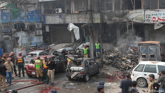 Bombenanschlag in Lahore Pakistan