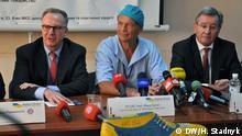 Westukraine - PK für ein Hilfsprojekt für kranke Kinder