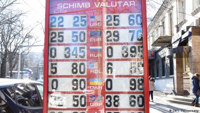 Casă de schimb valutar la Chișinău