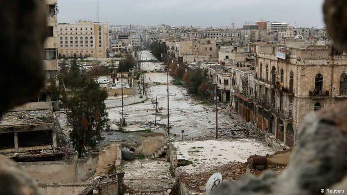 Aleppo / Syrien / Bürgerkrieg