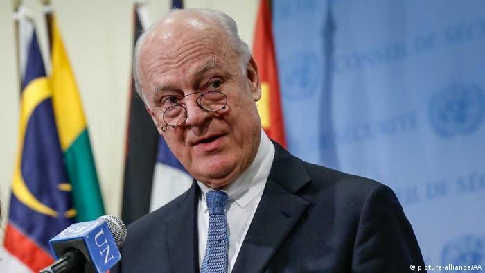 Спеціальний представник ООН у справах Сирії Стаффан де Містура