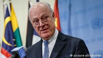 استفان دی میستورا، فرستاده ویژه سازمان ملل متحد در امور سوریه