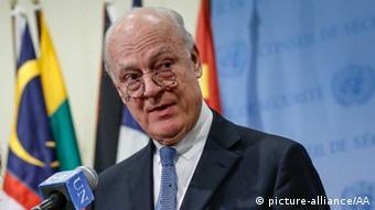 Staffan de Mistura / Syrien / UN