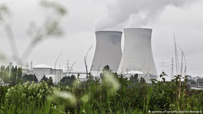 Doel Belgien Atomkraftwerk Schäden