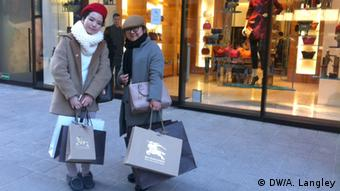 Shopping in Vienna, Copyright: Alison Langley