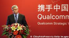 China Qualcomm CEO Steve Mollenkopf