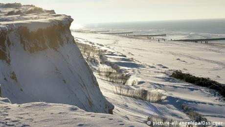 In winter the beaches on Sylt are deserted