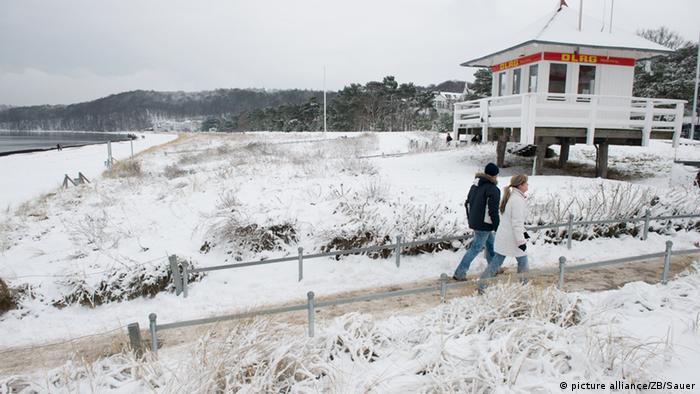 Rügen in winter