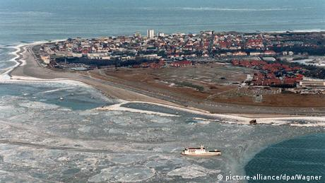 Norderney in winter