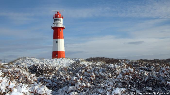 Winter on Borkum
