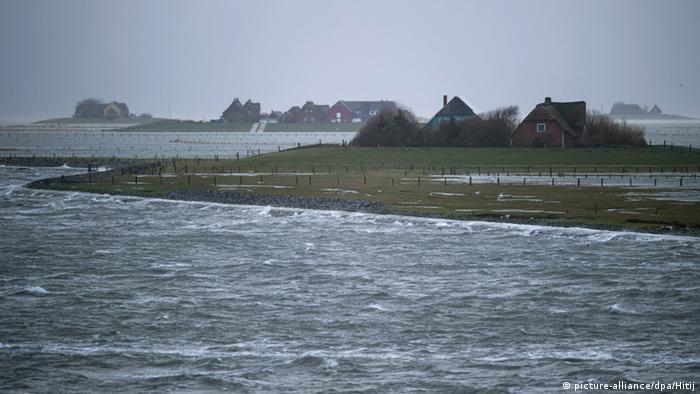 The Halligen Island of Langeneß