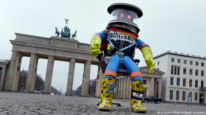 Deutschland Roboter hitchBOT
