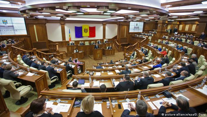 Moldawien Chisinau Parlament Abgeordnete