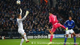 Champions League Schalke vs Real Madrid