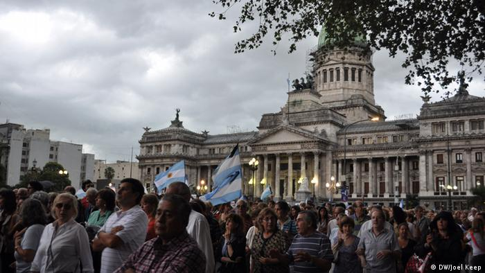 Proteste in Buenos Aires