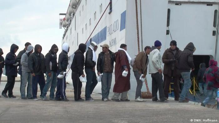 Italien Insel Lampedusa Flüchtlinge