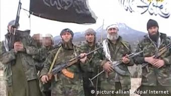 IS fighters in video still Foto: Internet