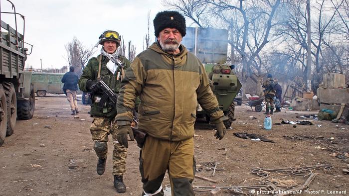 Ukraine Separatisten in Debalzewe